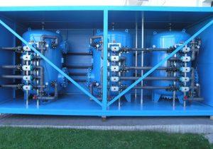 تصفیه آب مستقر در کانتینر